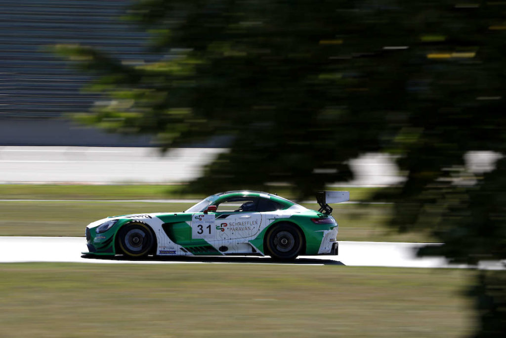 Maximilian Götz Space Drive Racing operated by HWA Mercedes-AMG GT3 GTC Race Lausitzring