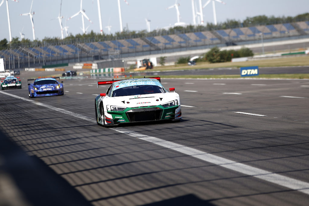 Markus Winkelhock Phoenix Racing Audi R8 LMS GT3 GTC Race Lausitzring