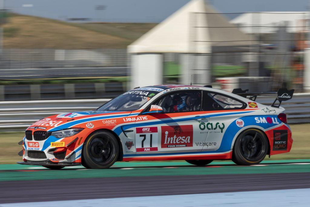 Stefano Valli Paolo Meloni W&D Racing Team BMW M4 GT4 GT4 European Series Misano
