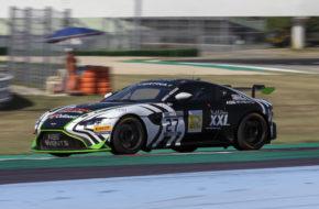 Theo Nouet Valentin Hasse-Clot AGS Events Aston Martin Vantage GT4 GT4 European Series Misano