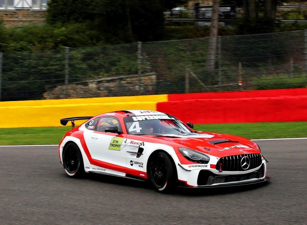 Jan Kisiel Leipert Motorsport Mercedes-AMG DTM Trophy Spa Francorchamps