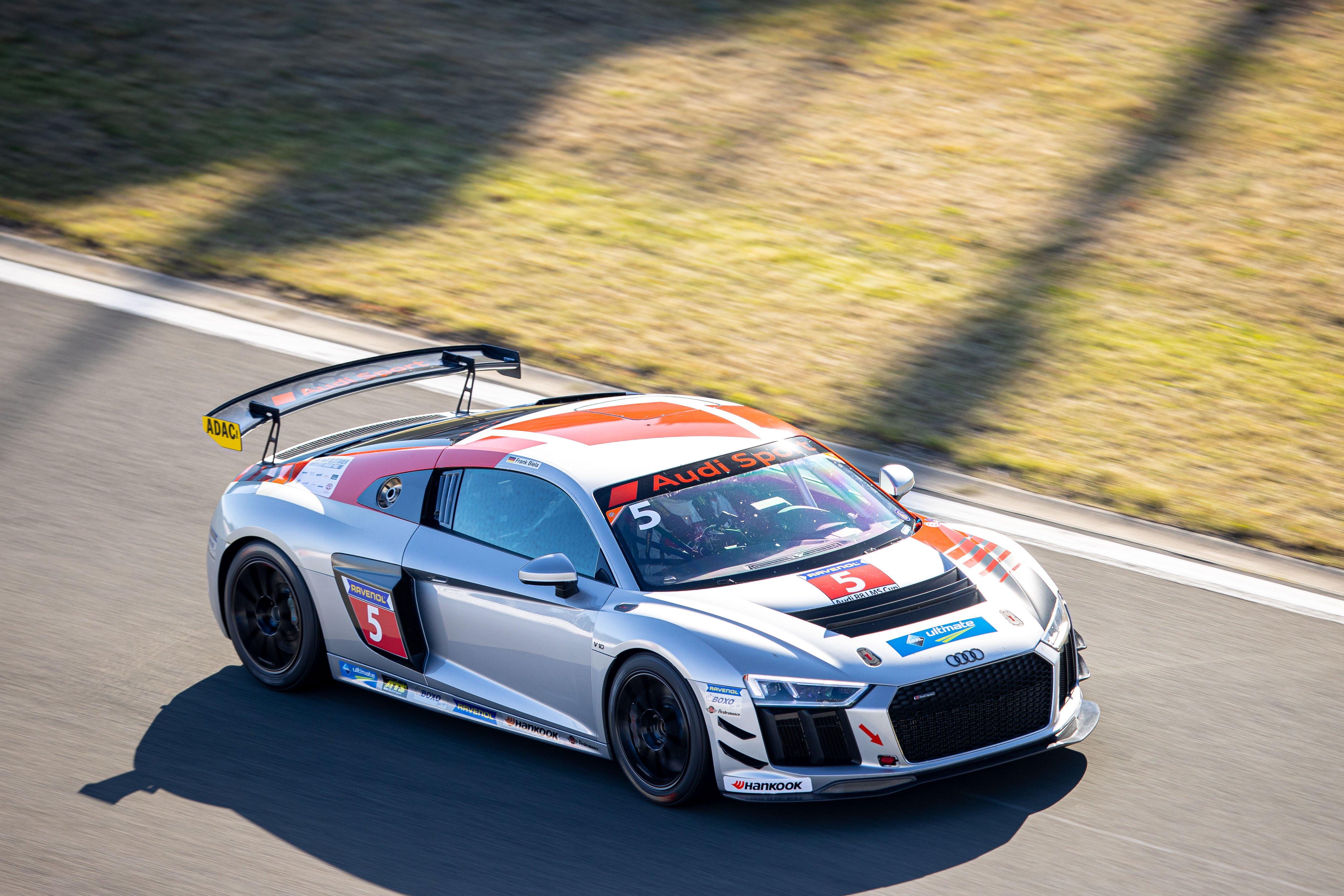Frank Biela Audi Sport Seyffarth R8 LMS Cup Nürburgring