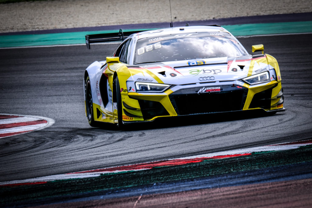 Christopher Haase Arthur Rougier Saintéloc Racing Audi R8 LMS GT3 GT World Challenge Europe Sprint Cup Misano