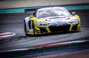 Christopher Haase Arthur Rougier Saintéloc Racing Audi R8 LMS GT3 GT World Challenge Europe Sprint Cup Misano