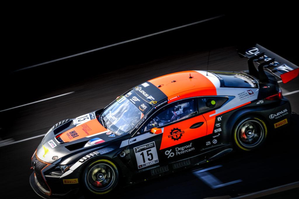 Thomas Neubauer Aurélien Panis Tech 1 Racing Lexus RC F GT3 GT World Challenge Europe Sprint Cup Misano