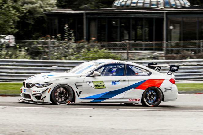 Luke Wankmüller FK Performance BMW M4 DTM Trophy Spa