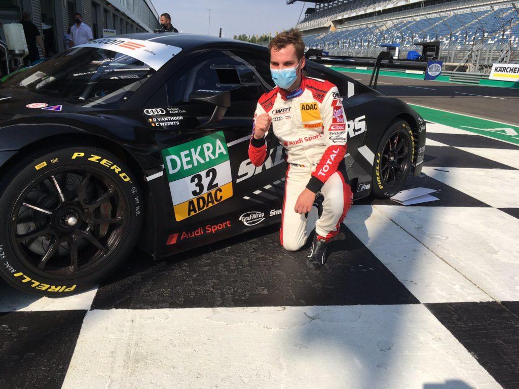 Dries Vanthoor WRT Audi R8 LMS GT3 ADAC GT Masters Lausitzring