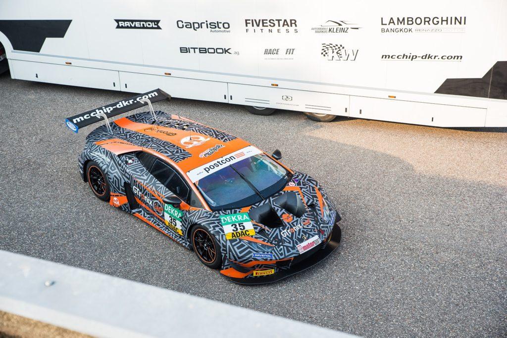 Heiko Hammel Dieter Schmidtmann mcchip-dkr Lamborghini Huracan GT3 ADAC GT Masters