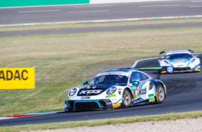 David Jahn Jannes Fittje KÜS Team75 Bernhard Porsche 911 GT3 R ADAC GT Masters Lausitzring