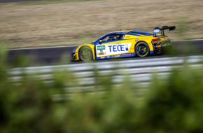 Pierre Kaffer Elia Erhart EFP Car Collection by TECE Audi R8 LMS GT3 ADAC GT Masters Lausitzring