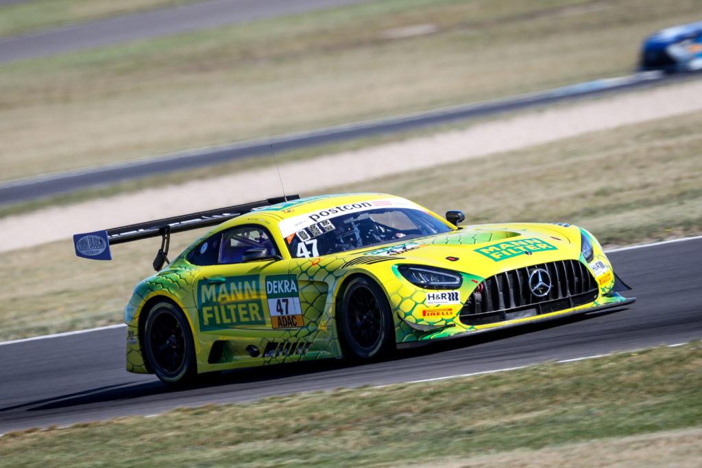 Indy Dontje Maximilian Götz HTP-Winward Motorsport Mercedes-AMG GT3 ADAC GT Masters Lausitzring