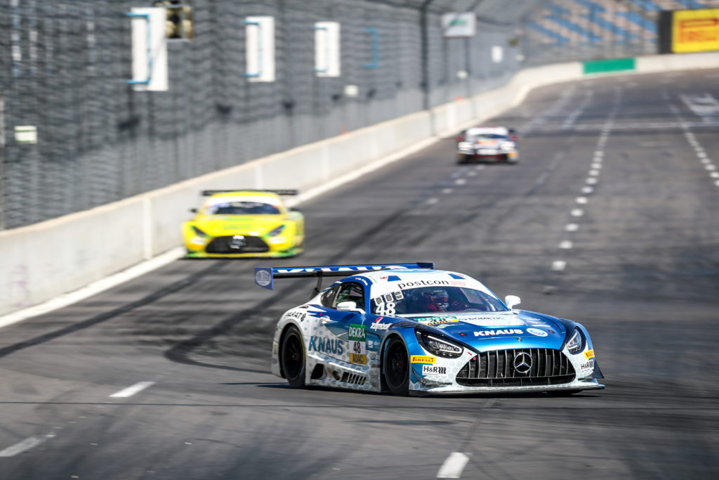 Philip Ellis Raffaele Marciello HTP-Winward Motorsport Mercedes-AMG GT3 ADAC GT Masters Lausitzring