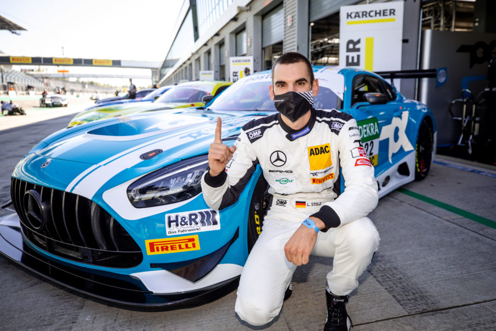 Luca Stolz Toksport WRT Mercedes-AMG GT3 ADAC GT Masters Lausitzring