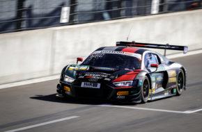 Maximilian Hackländer Nikolaj Rogivue Aust Motorsport Audi R8 LMS GT3 ADAC GT Masters Lausitzring