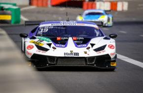 Clemens Schmid Niels Lagrange Grasser Racing Team Lamborghini Huracan GT3 ADAC GT Masters Lausitzring