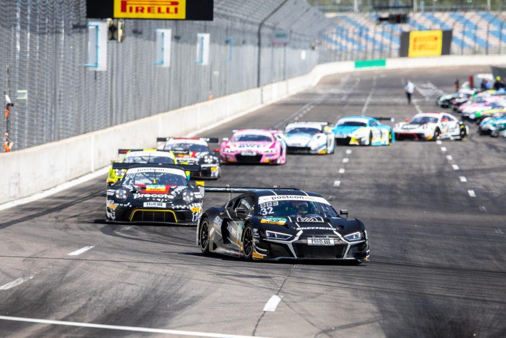 Dries Vanthoor Charles Weerts Team WRT Audi R8 LMS GT3 ADAC GT Masters Lausitzring