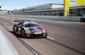 Rahel Frey Hendrik von Danwitz Aust Motorsport Audi R8 LMS GT3 ADAC GT Masters Lausitzring