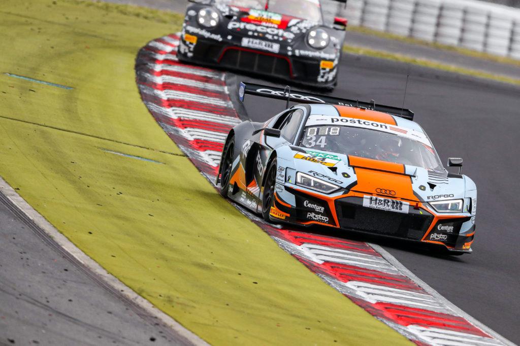Benjamin Goethe Stuart Hall Team WRT Audi R8 LMS GT3 ADAC GT Masters Nürburgring