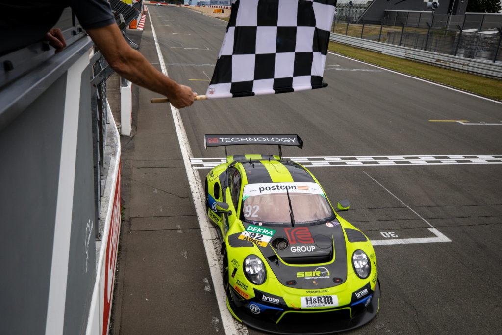 Michael Ammermüller Christian Engelhart SSR Performance Porsche 911 GT3 R ADAC GT Masters Nürburgring