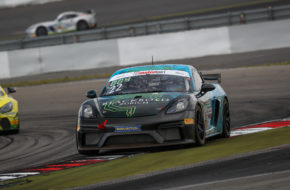 Jan Kasperlik Nicolaj Møller Madsen Allied-Racing Porsche 718 Cayman GT4 Clubsport MR ADAC GT4 Germany Nürburgring