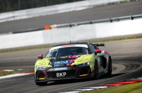 Hugo Sasse Dominique Schaak T3-HRT-Motorsport Audi R8 LMS GT4 ADAC GT4 Germany Nürburgring