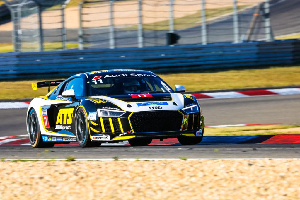 Martin Westerhoff Audi Sport Seyffarth R8 LMS Cup Nürburgring