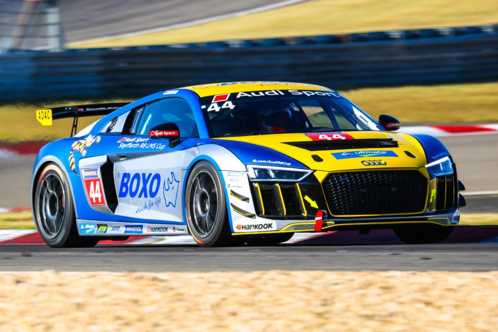 Matthias Kämpf Audi Sport Seyffarth R8 LMS Cup Nürburgring