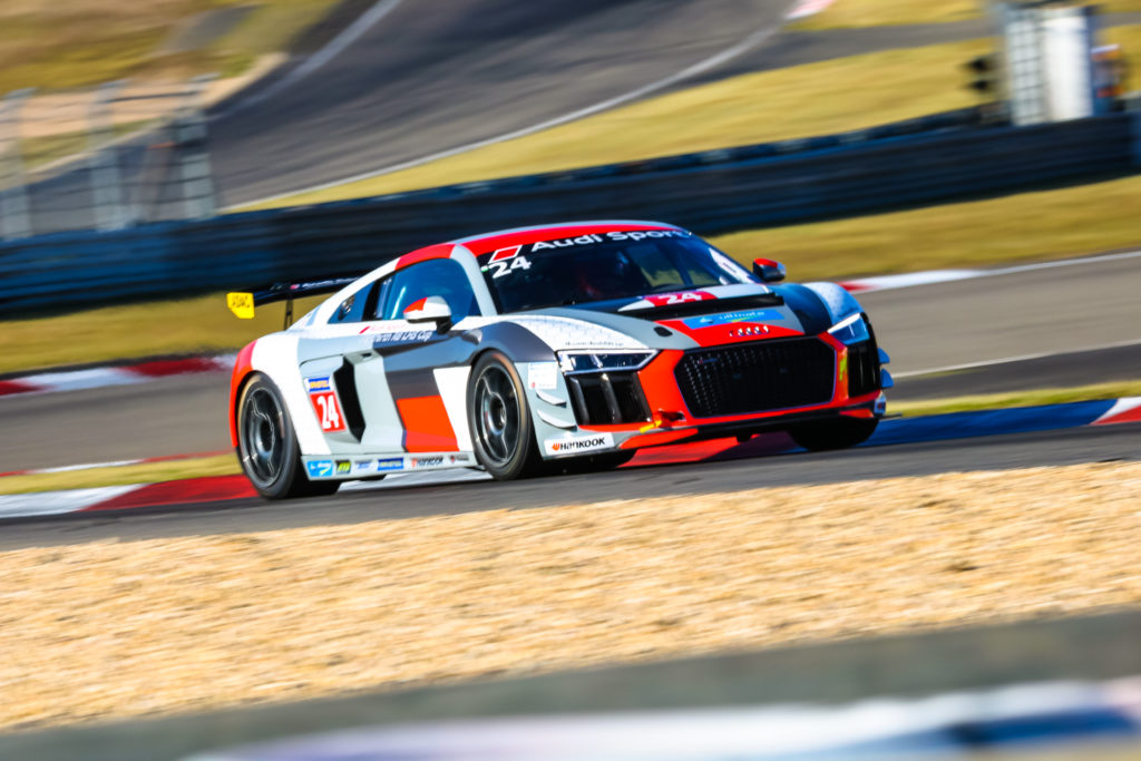 Christian Wicht Audi Sport Seyffarth R8 LMS Cup Nürburgring