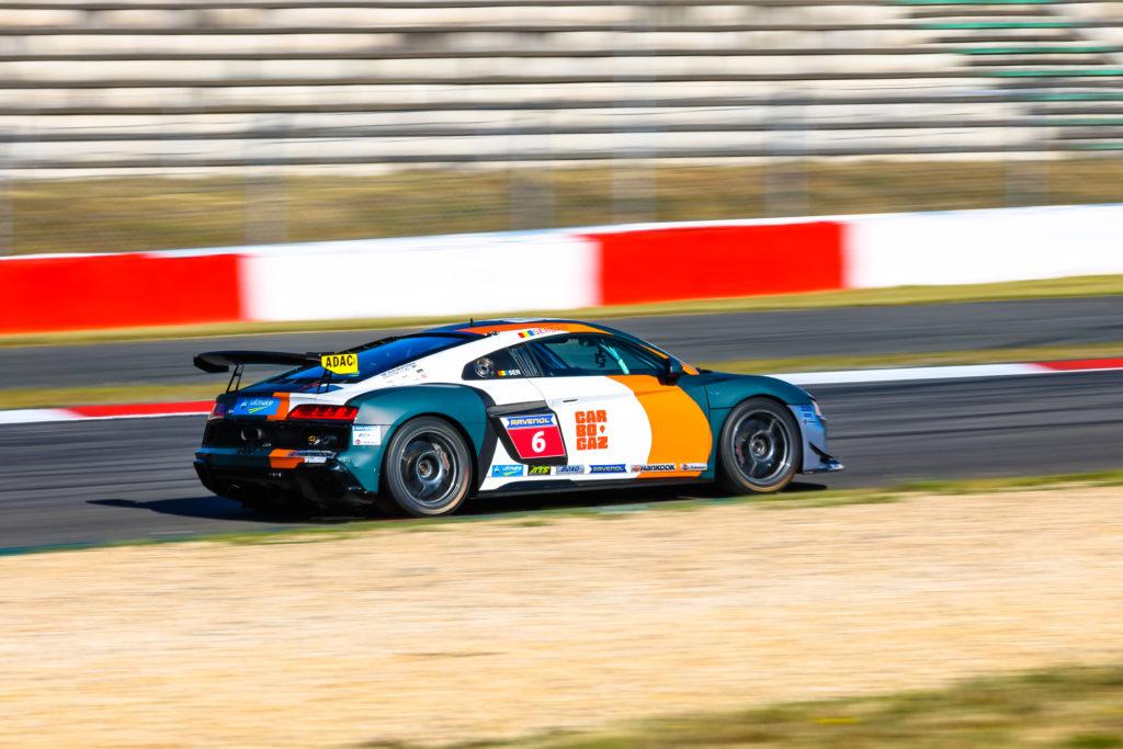 David Serban Audi Sport Seyffarth R8 LMS Cup Nürburgring
