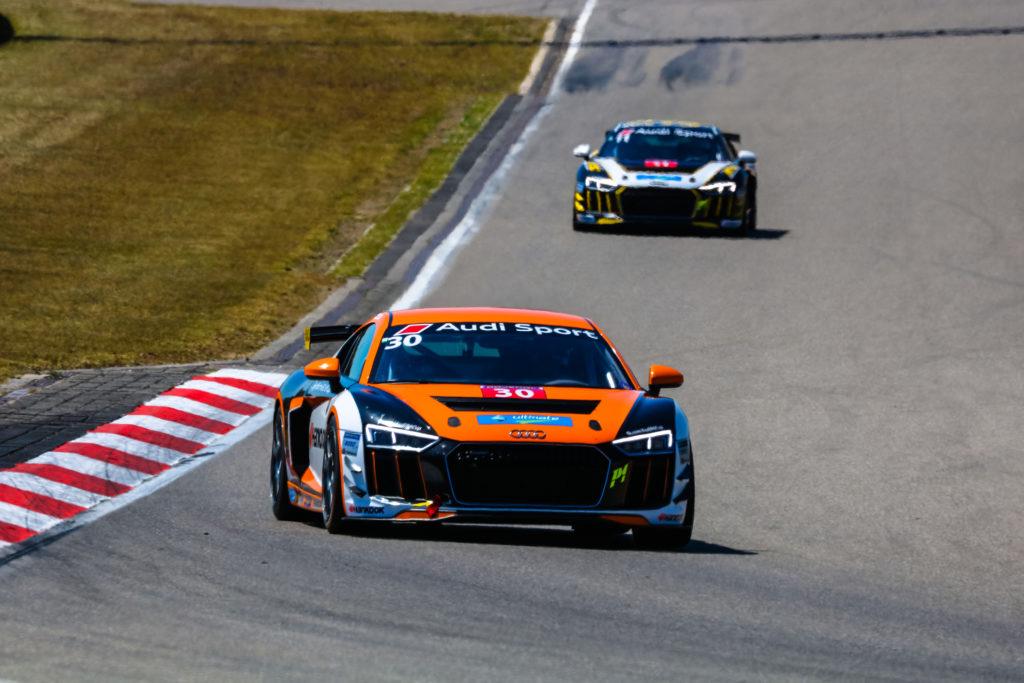 Max Zschuppe Audi Sport Seyffarth R8 LMS Cup Nürburgring