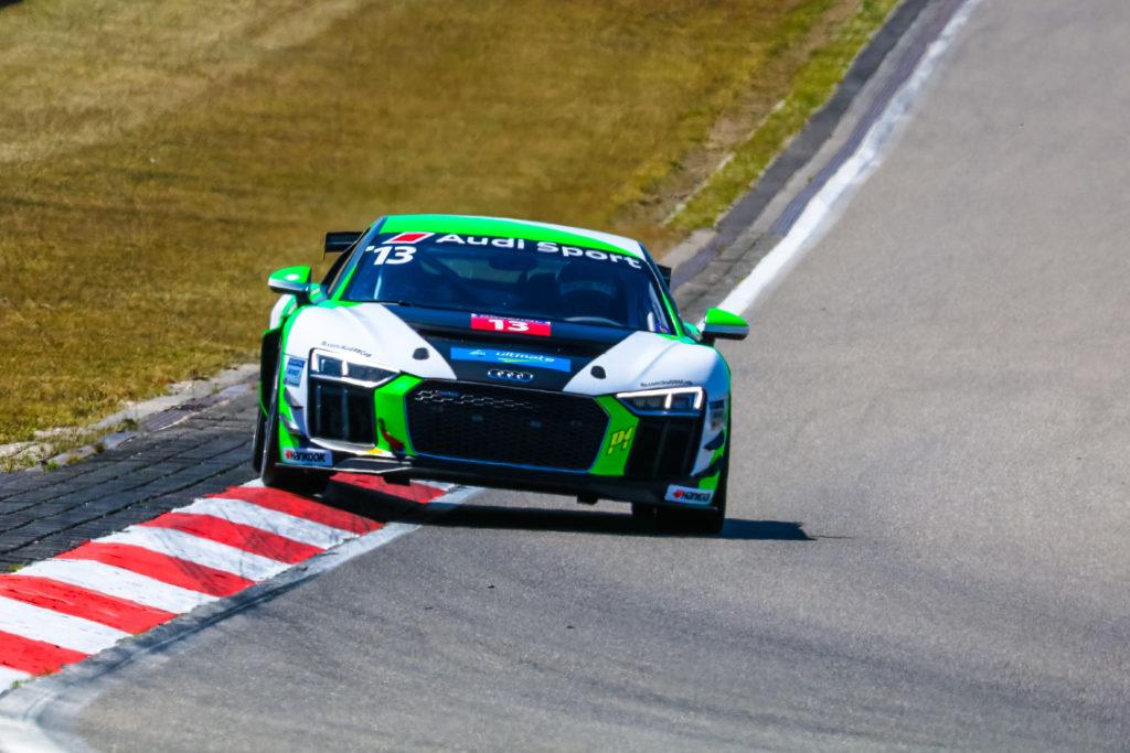 Guido Heinrich Audi Sport Seyffarth R8 LMS Cup Nürburgring