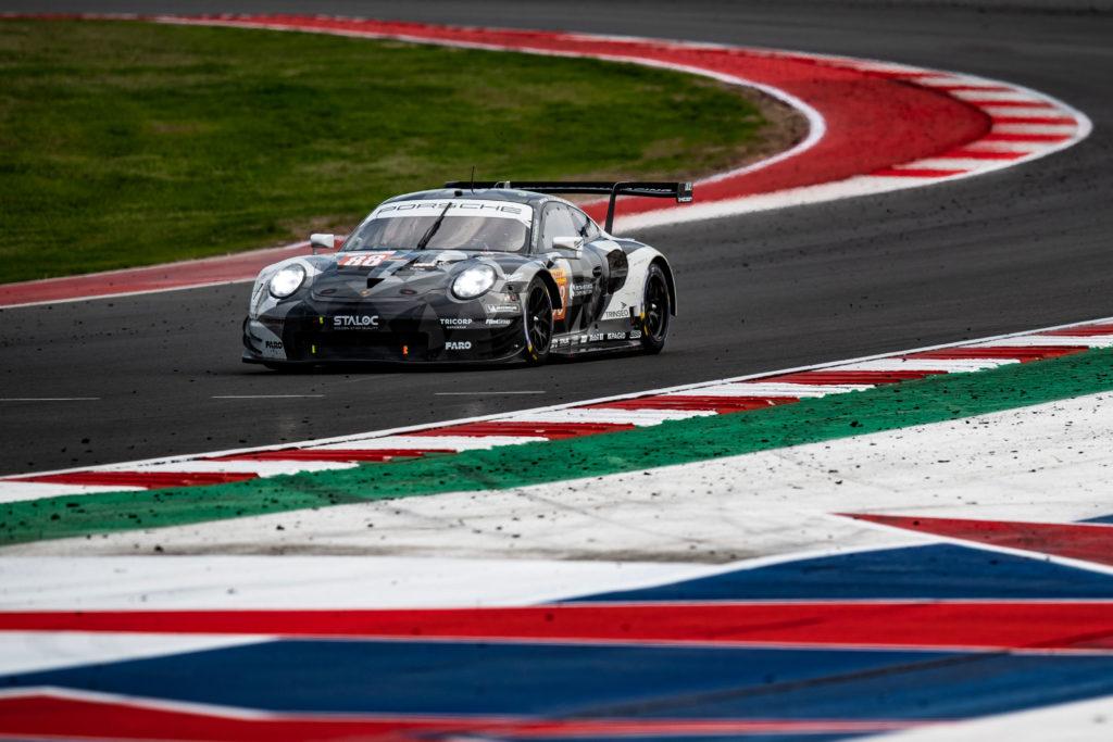 Bret Curtis Adrien de Leener Thomas Preining Dempsey-Proton Racing Porsche 911 RSR FIA WEC Austin