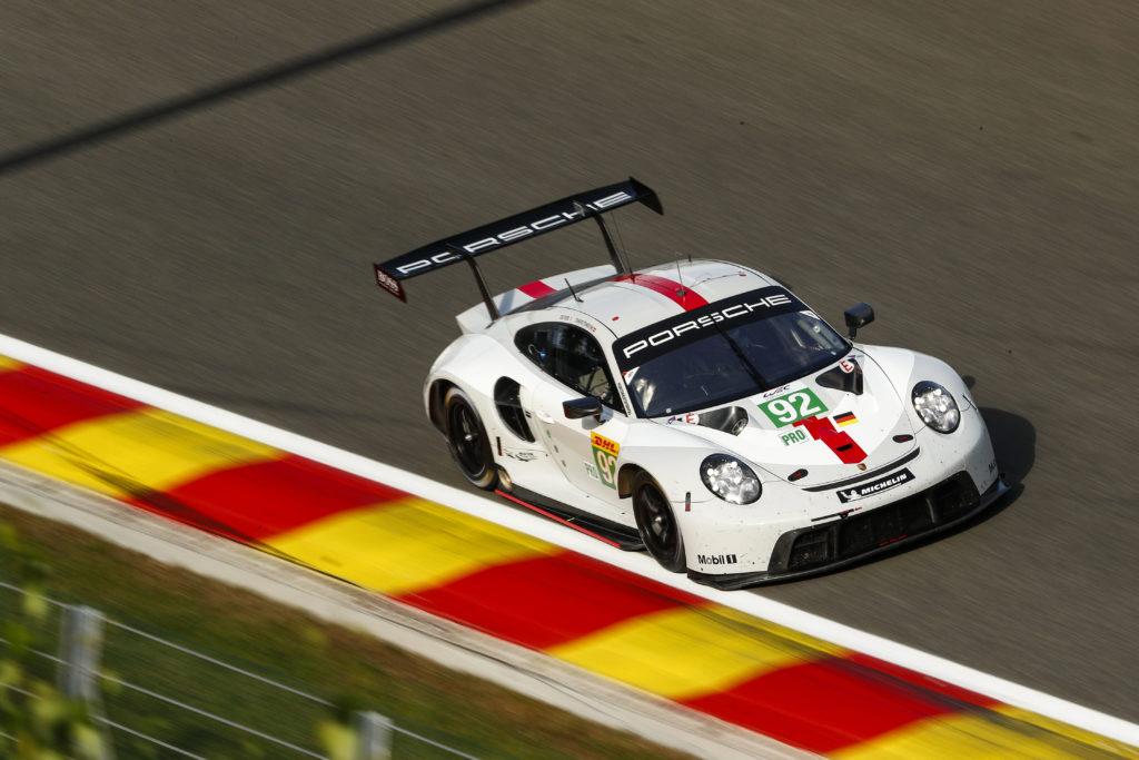 Kevin Estre Michael Christensen Porsche GT-Team Porsche 911 RSR FIA WEC Spa