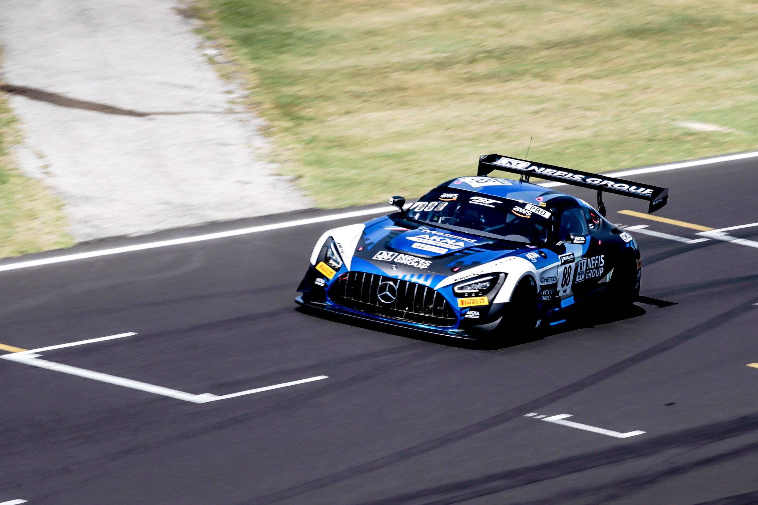 Timur Boguslavskiy Raffaele Marciello AKKA ASP Mercedes-AMG GT3 GT World Challenge Europe Sprint Cup Misano