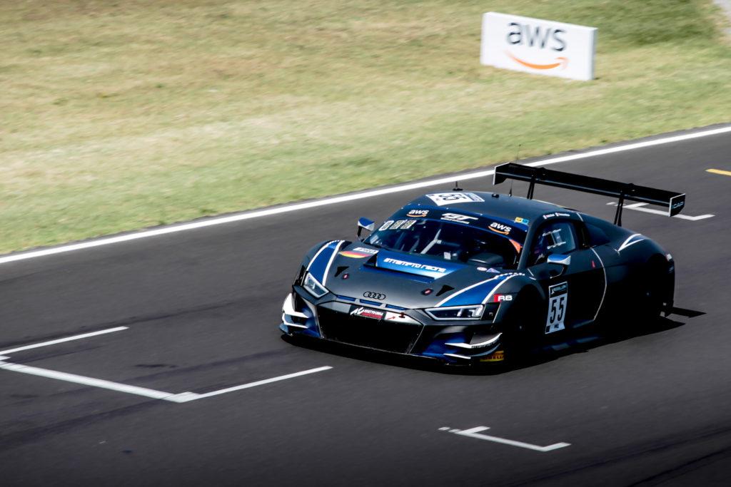 Tommaso Mosca Mattia Drudi Attempto Racing Audi R8 LMS GT3 GT World Challenge Europe Sprint Cup Misano