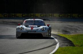 Laurens Vanthoor Earl Bamber Porsche GT Team Porsche 911 RSR IMSA WeatherTech SportsCar Championship Road America