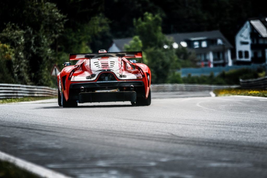 Thomas Mutsch Felipe Fernandez Laser Franck Mailleux Scuderia Cameron Glickenhaus SCG004C Nürburgring Langstrecken-Serie Nürburgring-Nordschleife