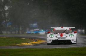 Nick Tandy Frédéric Makowiecki Porsche GT Team Porsche 911 RSR IMSA WeatherTech SportsCar Championship VIRginia International Raceway