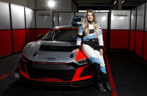 Sophie Hofmann Audi Sport Seyffarth R8 LMS Cup
