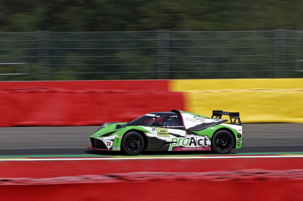 Kevin Strohschänk Teichmann Racing KTM X-Bow DTM Trophy Spa-Francorchamps