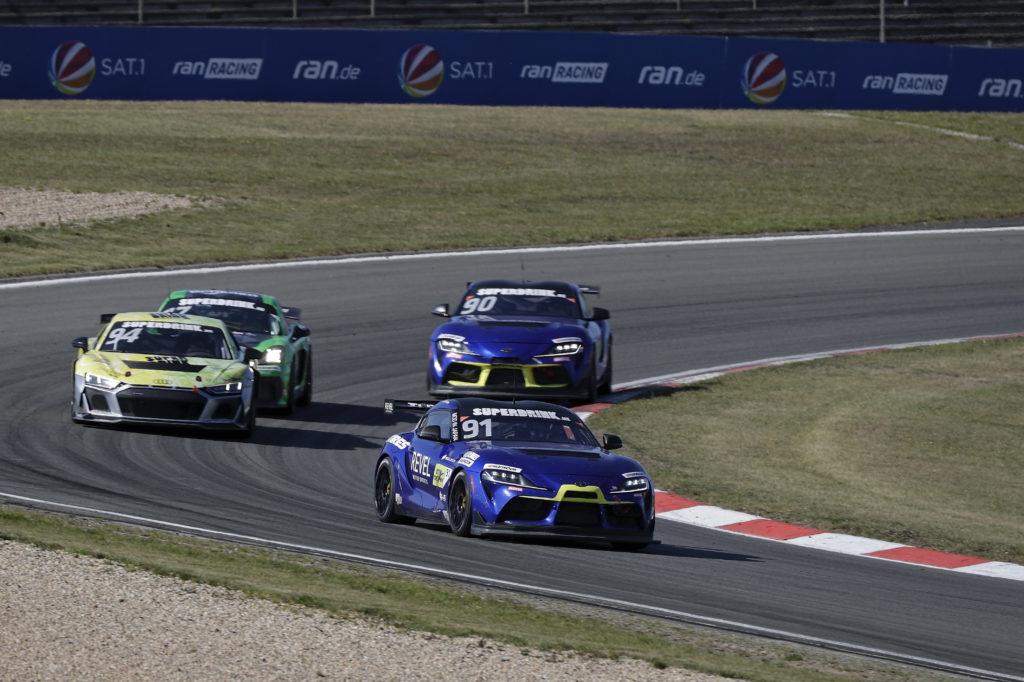 Andreas Gülden Ring Racing Toyota GR Supra DTM Trophy Nürburgring