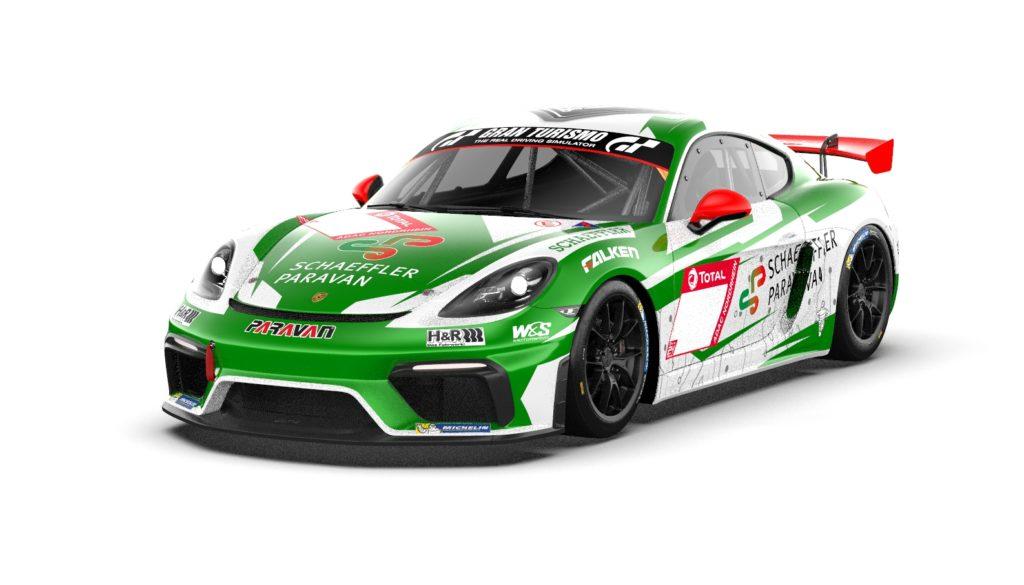Marvin Dienst Tim Scheerbarth Niklas Steinhaus Kai Riemer W&S Motorsport Porsche 718 Cayman GT4 Clubsport