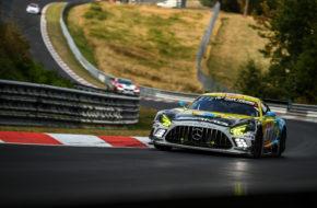 Hubert Haupt Yelmer Buurman Philip Ellis Nico Bastian Haupt Racing Team Mercedes-AMG GT3 24h Nürburgring