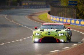 Marco Sörensen Nicki Thiim Richard Westbrook Aston Martin Racing Aston Martin Vantage GTE FIA WEC 24h Le Mans
