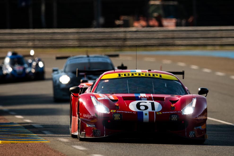 Côme Ledogar Ozz Negri Francecso Piovanetti Luzich Racing Ferrari 488 GTE FIA WEC 24h Le Mans