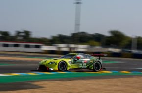 Alex Lynn Maxime Martin Harry Tincknell Aston Martin Racing Aston Martin Vantage GTE FIA WEC 24h Le Mans