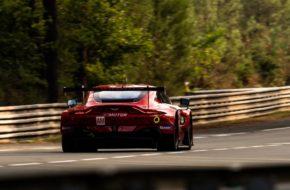 Jonathan Adam Charlie Eastwood Salih Yoluc TF Sport Aston Martin Vantage GTE FIA WEC 24h Le Mans