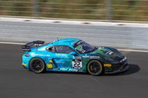 Jan Kasperlik Bastian Buus Allied-Racing Porsche 718 Cayman GT4 Clubsport MR GT4 European Series Zandvoort