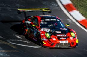 Frikadelli Racing Porsche 911 GT3 R Nürburgring Langstrecken-Serie Nürburgring-Nordschleife