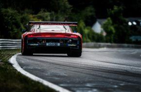 Mike David Ortmann Patric Niederhauser Milan Dontje Car Collection Audi R8 LMS GT3 Nürburgring Langstrecken-Serie Nürburgring-Nordschleife